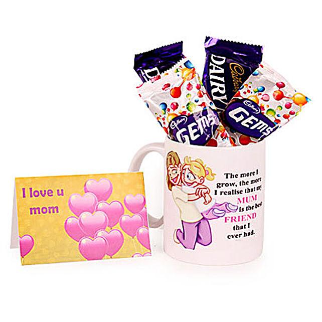 Fabulous Mom Mug: Thank You Chocolates