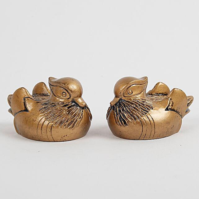 Feng Shui Mandarin Ducks For Love: