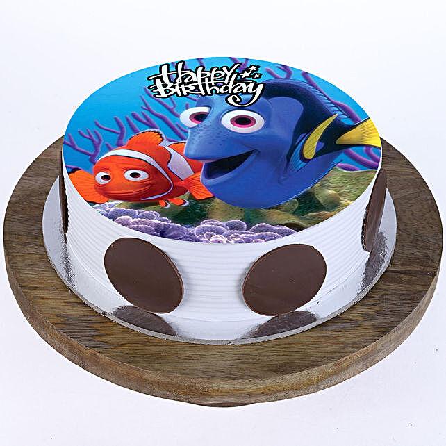 Finding Nemo Cake Cartoon Cakes