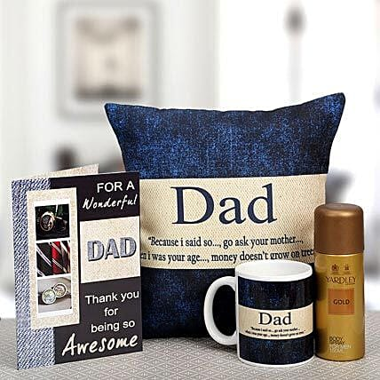 For My Wonderful Dad: Greeting Cards
