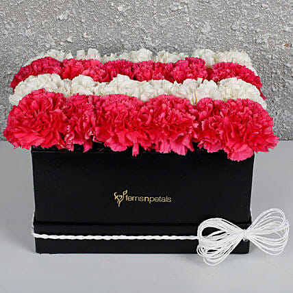 For The Pretty Woman: Valentines Day Carnations
