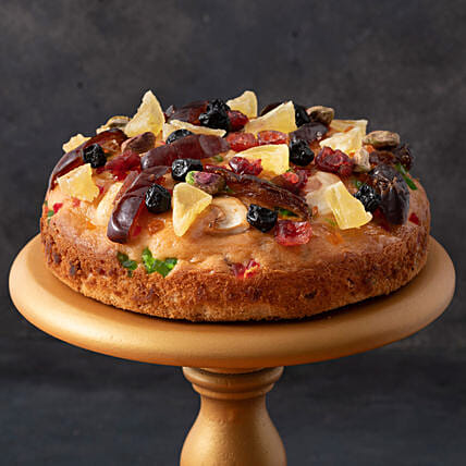 Fruit N Nut Cake- 500 gms: Birthday Cakes