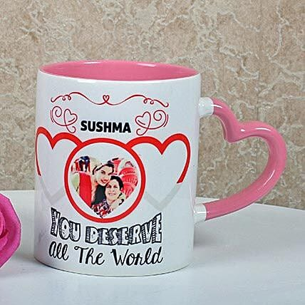 Full Of Love Personalized Mug: Gifts to India