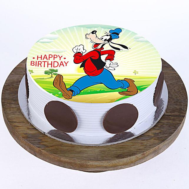 Funky Funky Goofy Photo Cake: Super Hero Themed Cakes
