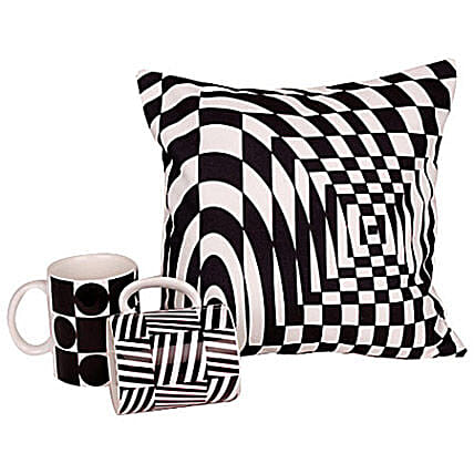 Get Edgy With Monochrome: Send Gift Hampers