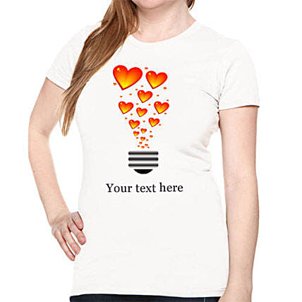 Get personal with Love: Personalised T Shirts