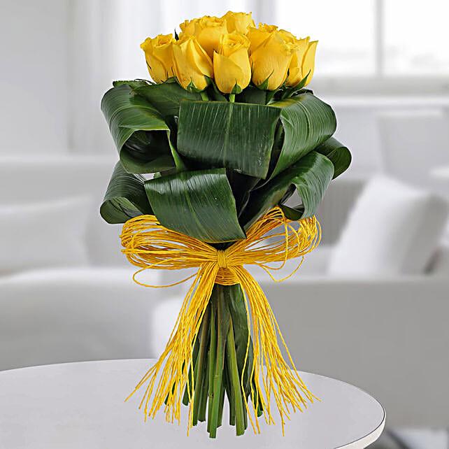 Gleams Of Sunshine Bouquet: Designer Bouquet