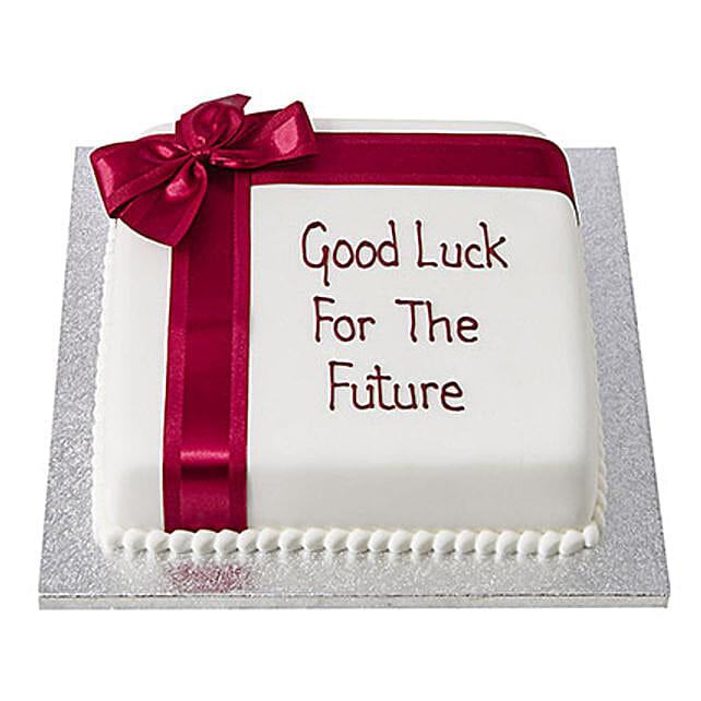 Good Luck Fondant Cake: Designer Cakes