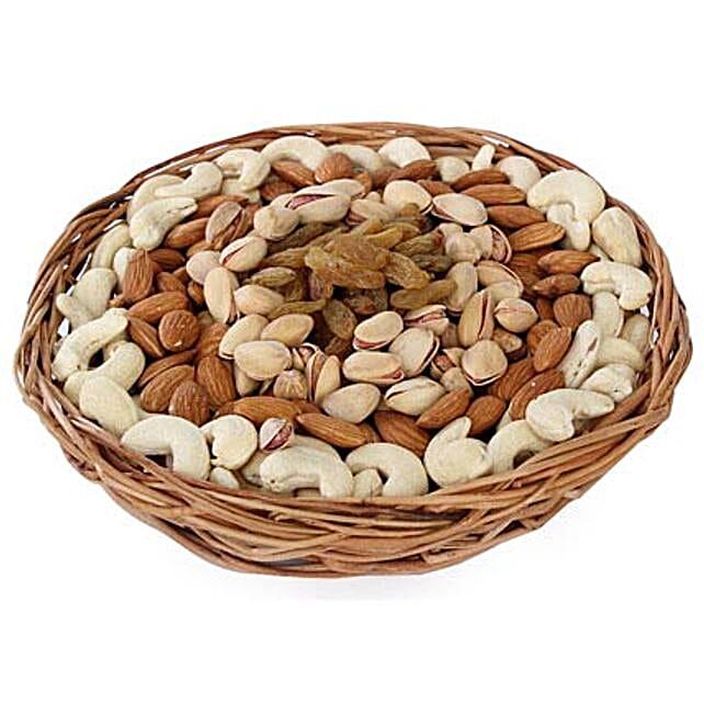 Half kg Dry fruits Basket: Gifts to Rewa