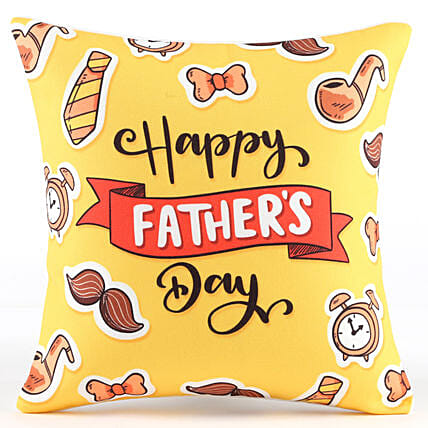 Happy Father's Day Cool Cushion: Gifts For Fathers Day From Daughter