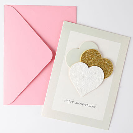 Hearty Greeting Card For Anniversary: Greeting Cards