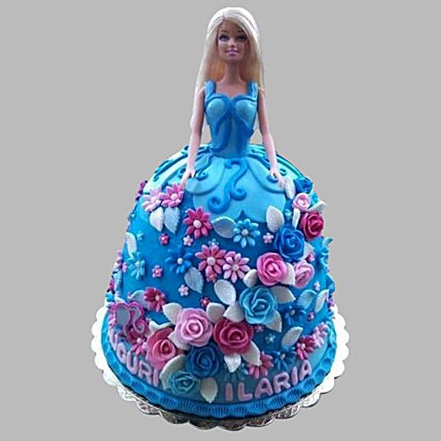Heavenly Barbie Cake: Cinderella Cakes