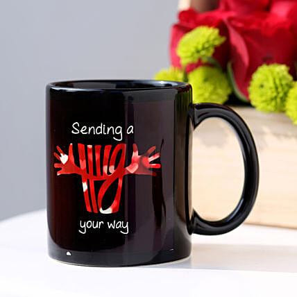 Hug From Heart Mug: Hug Day Gifts
