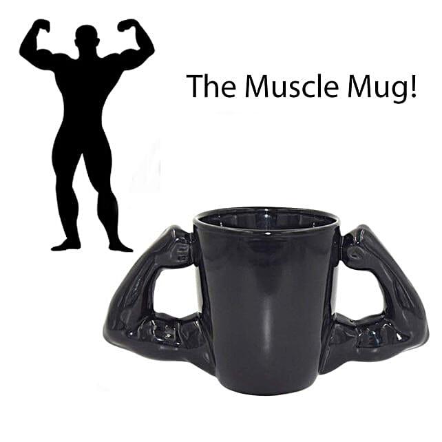 Hulk Muscles Coffee Mug: Funny Gifts
