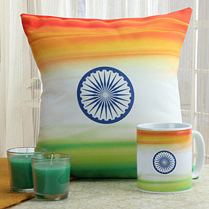 I Love India Combo: Independence Day Gifts