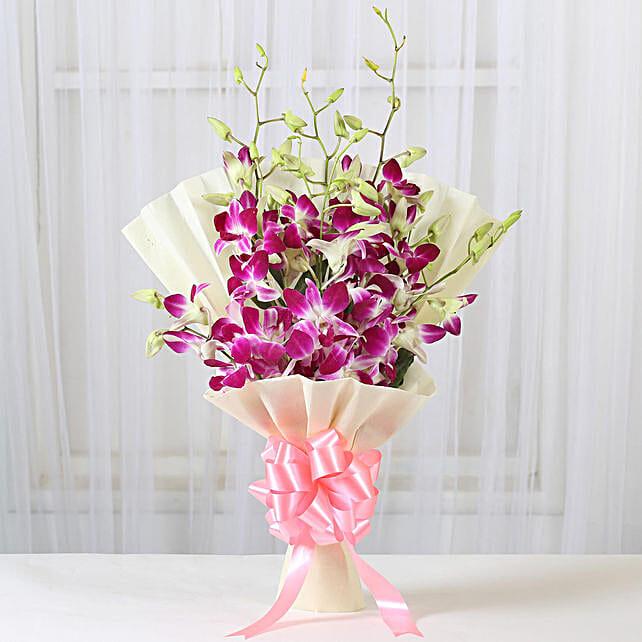 Impressive Orchids Bouquet: Send Orchids