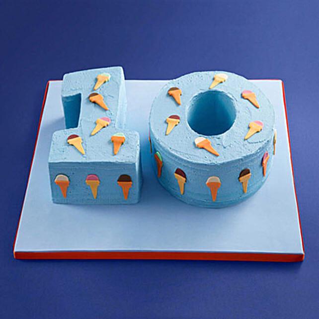 Inviting Fondant Cake: