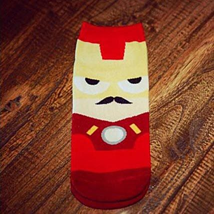 Ironman Novelty Ankle Length Socks: Funny Gifts