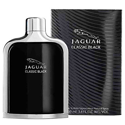 Jaguar Classic Black EDT For Men 100 ML: Send Perfumes