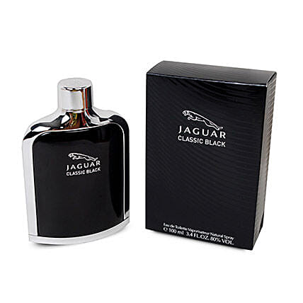 Jaguar Classic Black For Men: Mens Perfume
