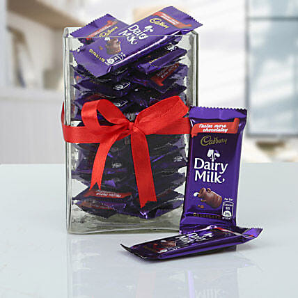 Jar Full Of Cadbury: