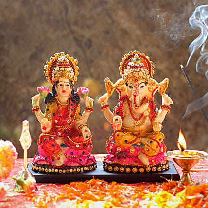 Lakshmi Ganesh Idol For Diwali: Laxmi Ganesha Idol Gifts