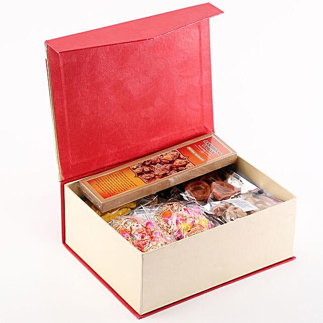 Lakshmi Ganesha Diwali Pooja Box: Pooja Samagri Boxes