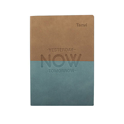 Live In The Moment Personalised Notebook: