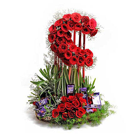 Loaded With Love: Fresh Flower Arrangement