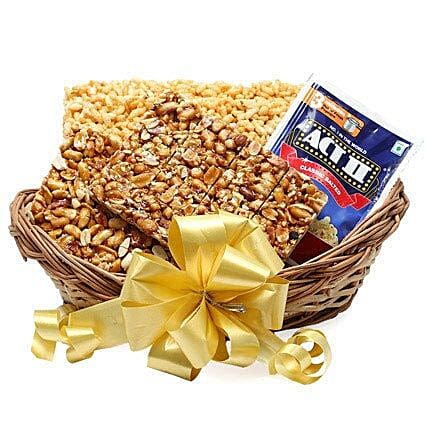 Lohri Treats Basket: Send Gift Baskets to Noida
