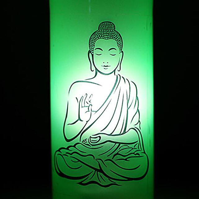 Lord Buddha Lamp: Bottle Lamps