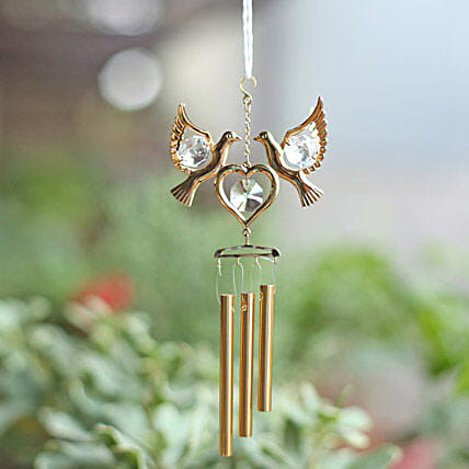 Love Birds Wind Chime: