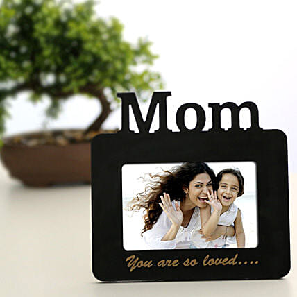 Lovely Mom Personalized Frame: Send Personalised Photo Frames to Hyderabad