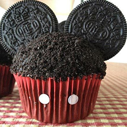 Mickey Mouse in a Cupcake: Oreo Cakes