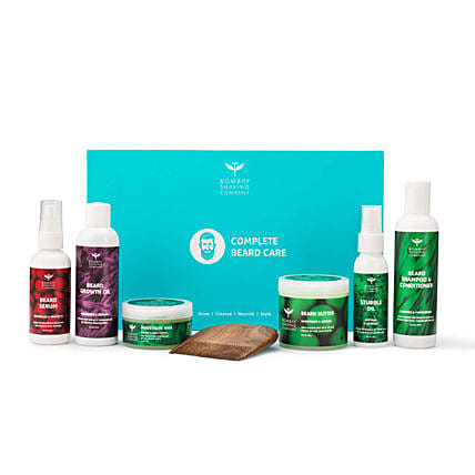 Mint Scented Complete Beard Care Gift Kit: Gifts Bombay Shaving Company