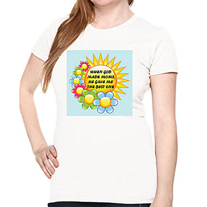Mommy Printed All Over T Shirt: T Shirts