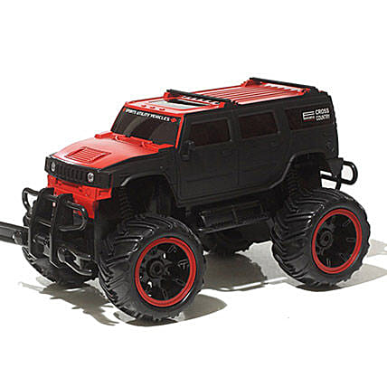 Monster Truck In Red N Black: Toys and Games
