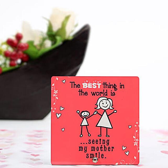 Mothers Smile Plaque: Plaques