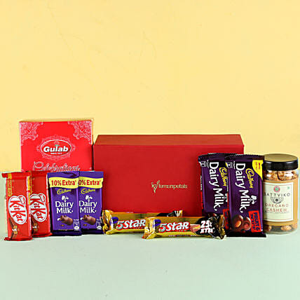 Nutty Chocolaty Festive Hamper: Gifts for Dussehra