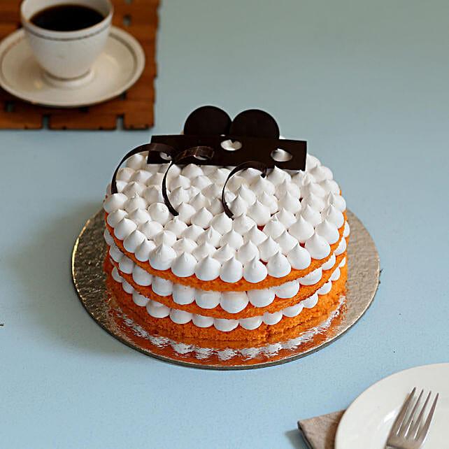 Orange Cream Cake: Cakes for Birthday