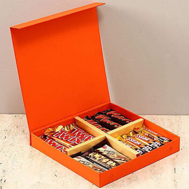 Orange FNP Box Of Chocolates: Congratulations Gifts