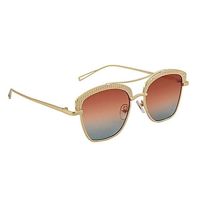 Orange Women Wayfarer Sunglasses: Sunglasses Gifts