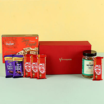 Paan Raisins & Soan Papdi Gift Hamper: Send Gifts for Dussehra