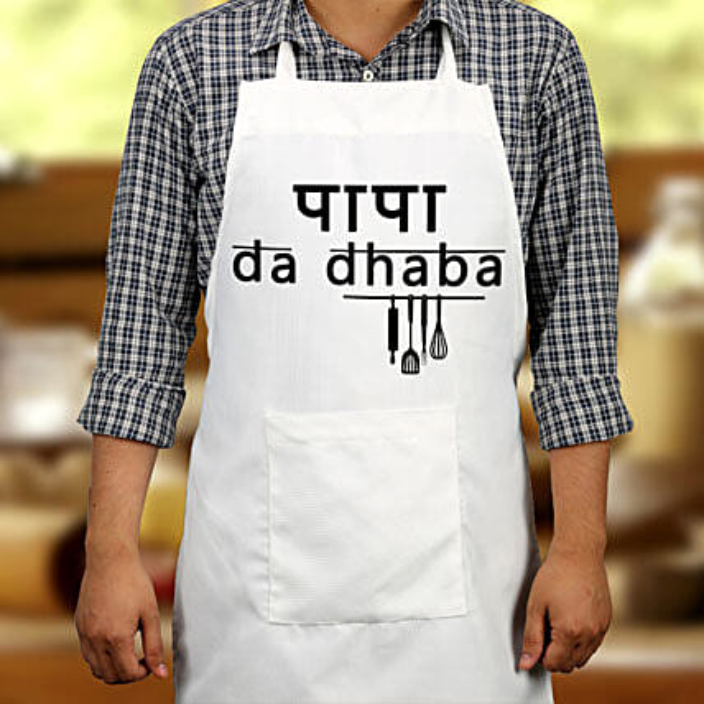 Papa Da Dhaba: Aprons