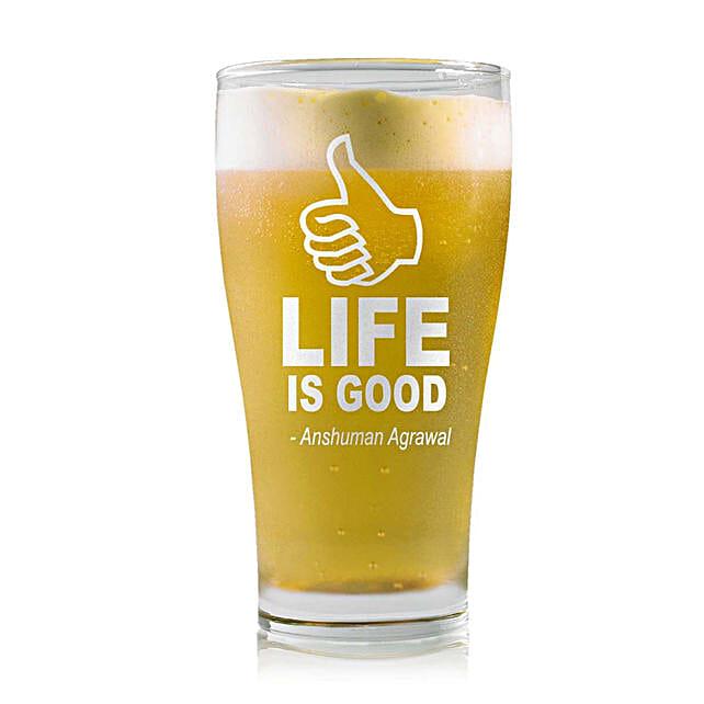 Personalised Beer Glass 1472: