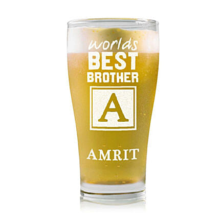 Personalised Beer Glass 2219: Personalised Beer Glasses