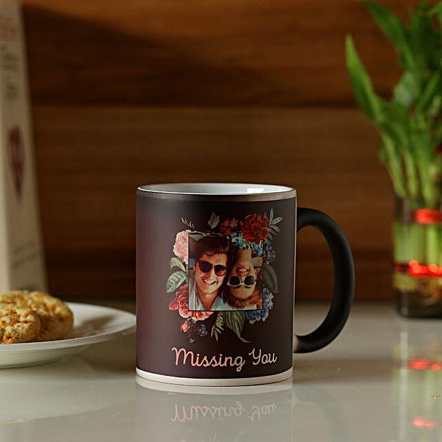 Personalised Black Magic Mug For Adorable Couple: Personalised Mugs