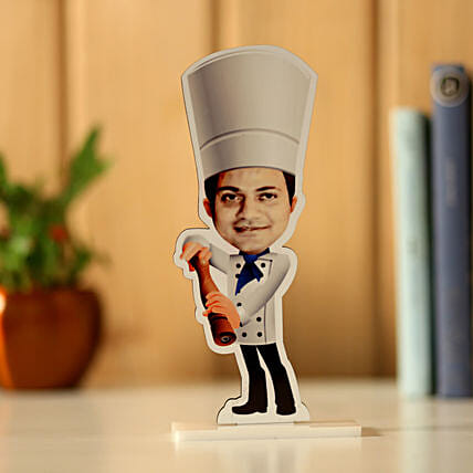 Personalised Chef Caricature: Personalised Caricatures