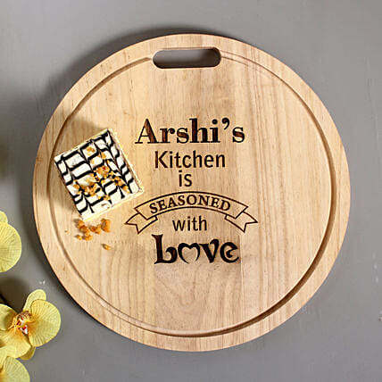 Personalised Engraved Quality Chopping Board: