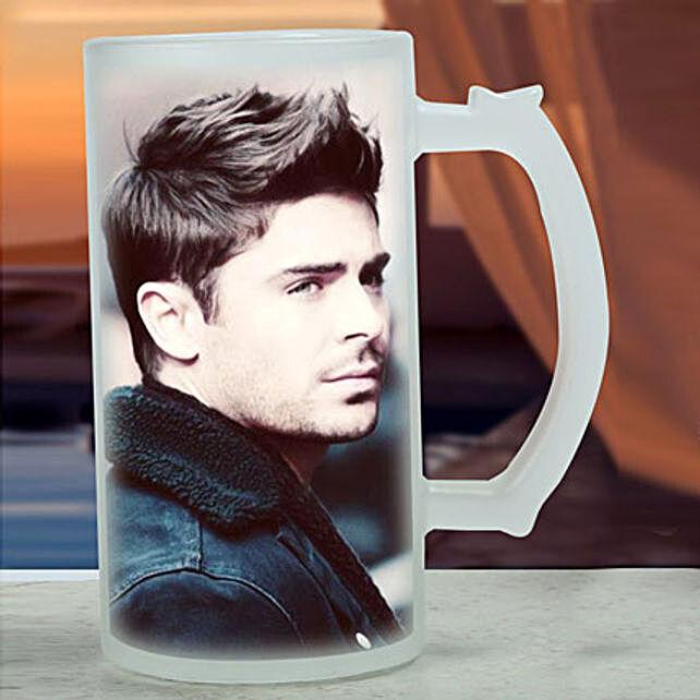 Personalised Frosted Beer Mug: Buy Coffee Mugs